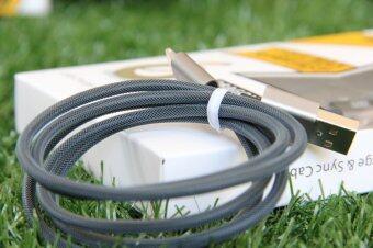 Mitz Micro usb cable สายชาร์จ android 2 เมตร (สีเทาเข้ม) - 2