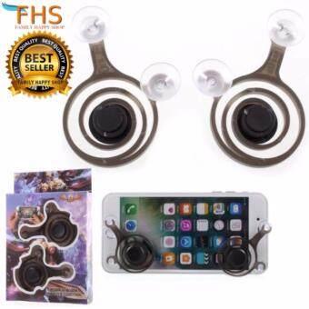 mobile Game Remotr control FHS Mini Fling Mobile Game Rov Remote Control Joystick จอยเกมส์สำหรับมือถือแบบพกพา
