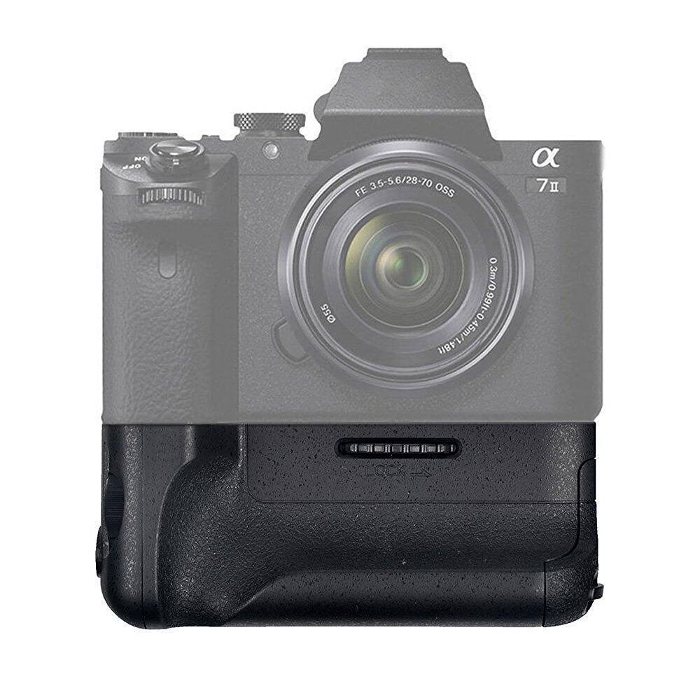 Mondpalast Battery Grip (compatible to VG-C2EM) for NP-FW50Batteries Sony A7 Mark II A7R MKII A7II A7M2 A7R2
