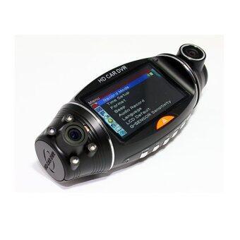 Morestech กล้องติดรถยนต์ 2 เลนส์ รุ่น DVR SC310 GP400 - Black (image 1)