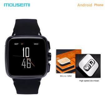 MOUSEMI Z01 Smart Watch Android With A Sim Card And Phone FunctionSmart Watches GPS Tracker Waterproof Bluetooth Smartwatch - intl
