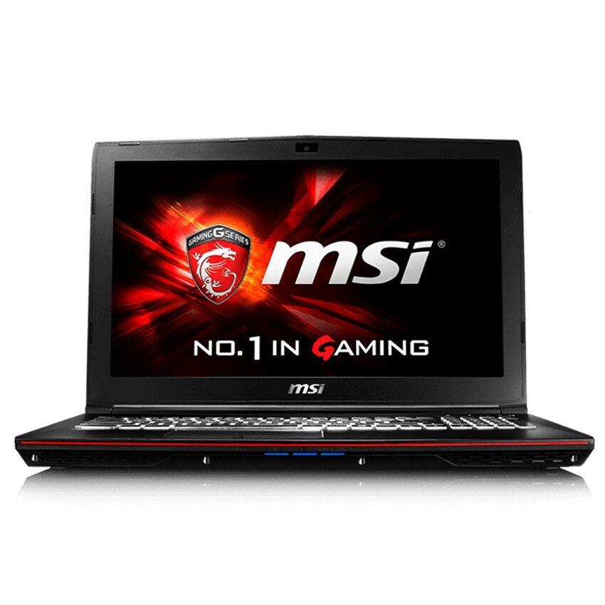 "MSI Gaming notebook GP62 6QF602 Leopard Pro 15.6""i7-6700HQ+HM1708GB1TBGeForce GTX 960M Dos(Black)"