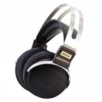 MSUR N650 HIFI Headset High End ไม้หูฟัง Headband หูฟังเบริลเลียมอัลลอยด์ DRIVER Portein หนังไม่มีกล่อง