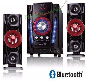 Music D.j. ลำโพงซัพ รุ่น D-918C NEW Bluetooth USB FM