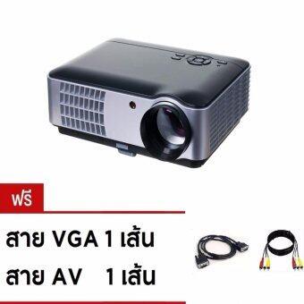 2561 MV โปรเจคเตอร์รองรับ 3D คมชัดระดับ HD รุ่นRD806 - Black (ฟรีสายAV,สาย VGA สาย HDMI)