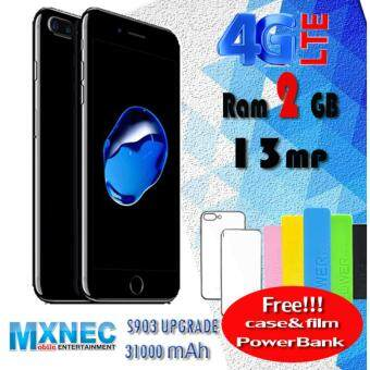 """ราคา Mxnec s903 มือถือ 4G แรม 2GB กล้อง 13 ล้าน จอ 5.5"""" QHD รับประกันศูนย์ Mxnec"""