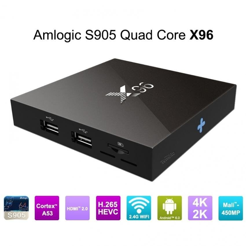 ยี่ห้อนี้ดีไหม  น่าน MXQ Android Smart Box X96 UHD 4K 64Bit Cpu Android Marshmallow 6.0