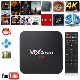 MXQ pro Amlogic S905 Quad-core Smart TV Box Android 5.1 SDRAM 1GB Flash 8GB HD 1080P 4k*2k Streaming Media Player US - intl