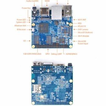บอร์ด NanoPi A64 Allwinner
