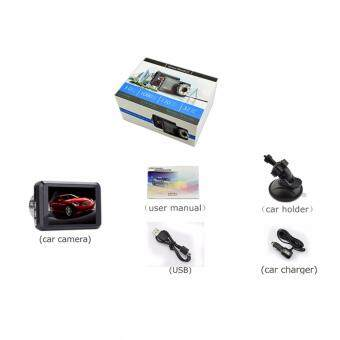 Nanotech 2017 กล้องติดรถยนต์ WDR จอ car cameras
