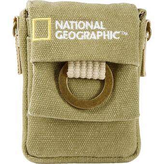 National Geographic NG 1147 Nano Camera Pouch For Small Digital Point and shoot Cameras ซองกระเป๋าสะพายไหล่สะพายข้างกล้องพ้อยแอนด์ชู้ต ซองคาดเอวกล้องพ้อยแอนด์ชู้ต กระเป๋าสะพายไหล่ข้างคาดเอวกล้อง Small Digital Point and shoot