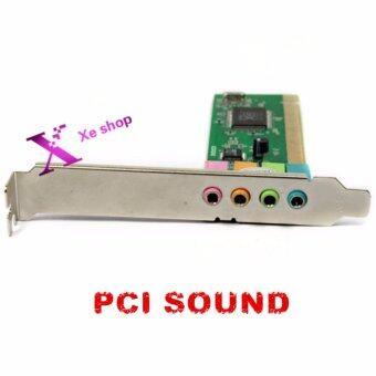 New 4 Channel 5.1 Surround 3D PCI Sound Audio Card For Desktop Computer