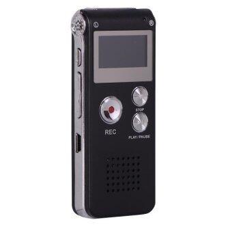 New Voice Recorder 8GB Mini USB Flash Digital Audio Voice Recording 650Hr Dictaphone MP3 Player - intl
