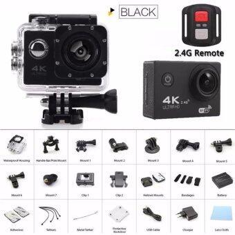 ลดราคา Newest gopro hero 4 style Action camera F60R Ultra HD