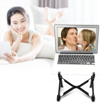 NEXSTAND Foldable Laptop Stand Table Adjustable Height Lapdesk ForNotebook - intl