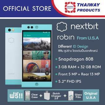 Nextbit Robin 32GB (Mint) แถมฟรี Premium set ( Adapter QC2.0 , Glass Protector Film and Clear case )