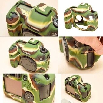 Nice Soft Silicone Rubber Camera Protective Body Cover CaseSkinForCanon EOS 6D Camera Bag (Intl) - intl