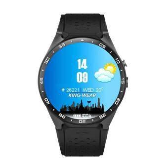 niceEshop นาฬิกาข้อมือบลูทูธอัจฉริยะ รุ่น KW88 สำหรับแอนดรอยด์ 5.1 พร้อม GPSกล้องวัดอัตราการเต้นหัวใจกูเกิ้ลแมพกูเกิ้ลเพลย์