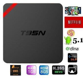 niceEshop MiNi T95N Android 5.1 Tv Box MINI Amlogic S905 Quad Core Android Smart TV Box 1GB/8GB Wifi Kodi 16.0 Fully Loaded HD 4K Streaming Media Player