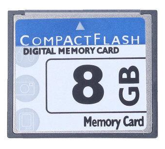 niceEshop Professional 8GB Compact Flash Memory Card (White/Blue)