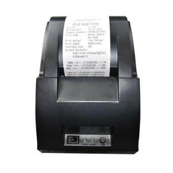 niceEshop USB Mini 58mm POS Thermal Dot Receipt Bill Printer SetRoll Paper POS Z-5890 - intl