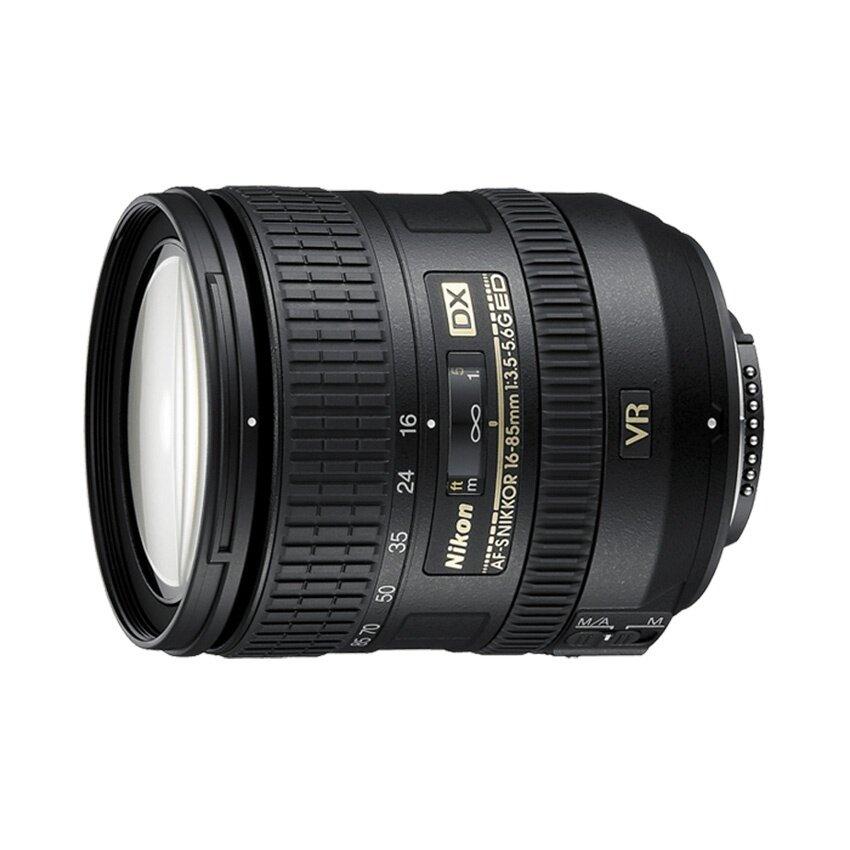 Nikon Lens AF-S DX VR 16-85MM F/3.5-5.6G (ประกันศูนย์)