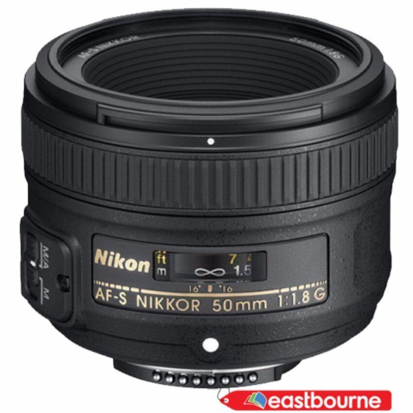 Nikon Lens AF-S NIKKOR 50mm f/1.8G (สีดำ)