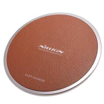 ใหม่ล่าสุด! ที่ชาร์จแบบไร้สาย Nillkin Wireless Charger Magic Disk III for Samsung Galaxy S8 S8 Plus S6, S7, Note 5, Note 7 , Note 8 Brown