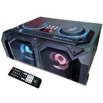 NKE ชุดเครื่องเสียงร้องคาราโอเกะ FAMILYBLUETOOTH USB/SD CARD พร้อมเพลง MP3 1500เพลง