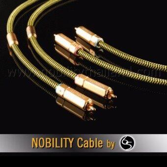 Nobility RCA Cable สายสัญญาณ รุ่น Eagle E-280XH ความยาว 1เมตร - สีเหลือง (2 เส้น)