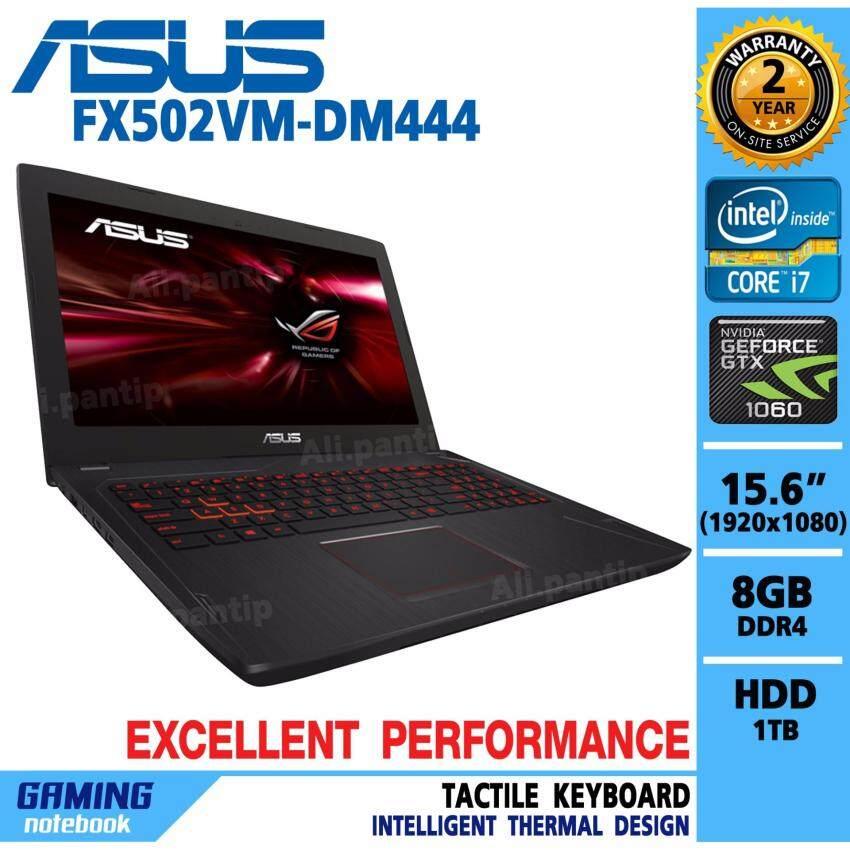 ขาย Notebook  Asus FX502VM-DM444 (Black)
