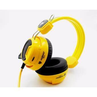 NUBWO หูฟัง เกมมิ่ง รุ่น NO-V1 (สีเหลือง)
