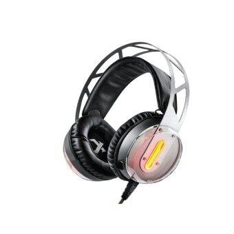 NUBWO X12 XIBERIA Gaming Headset (Short Mic) - Grey