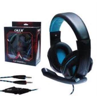 ราคา OKER Headset X2 (Black/Red)