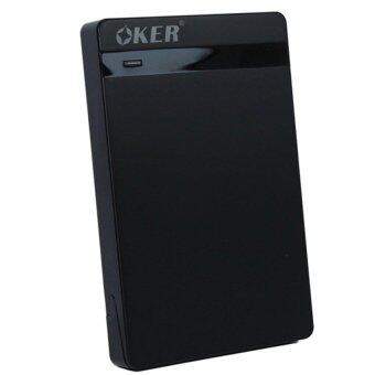 OKER USB 2.0 SATA BOX External Hard Drive รุ่น ST-2526 (Black)