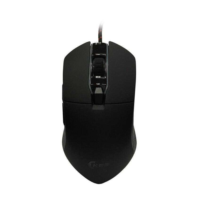 Oker เมาส์เกมมิ่ง มาโคร รุ่น V82 - (สีดำ)