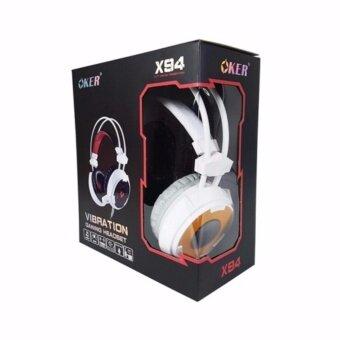 Oker หูฟังเกมมิ่ง Vibration Hi-Fi stereo headphone Gaming Headsetรุ่น X94 - 2