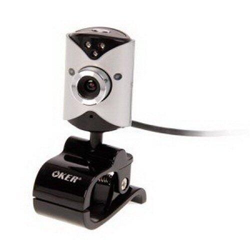 OKER กล้อง webcam รุ่น 088 (สีดำ/เทา)