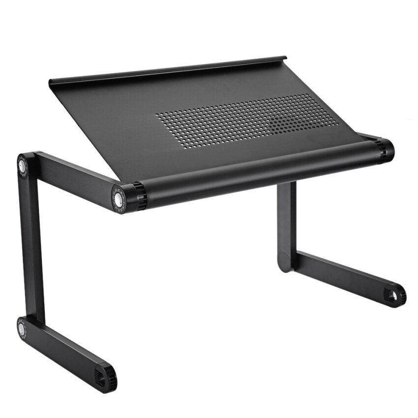 OMAX A6 Adjustable Height Laptop Desk Notebook Table with Vented Stand - intl