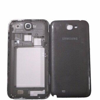 OMG อะไหล่มือถือ ชุดบอดี้พร้อมฝาหลัง Samsung Galaxy Note2(N7100)สีดำ