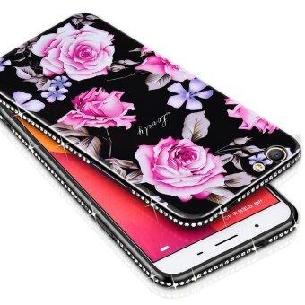 รายละเอียดรูปภาพ เคส OPPO A57 Flowers Rose Case Soft TPU Silicon Back Cover ล่าสุด