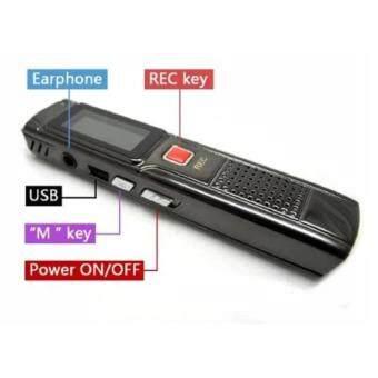 Orbia Digital Voice Recorder 8GB รุ่น GH-809 (สีดำ)