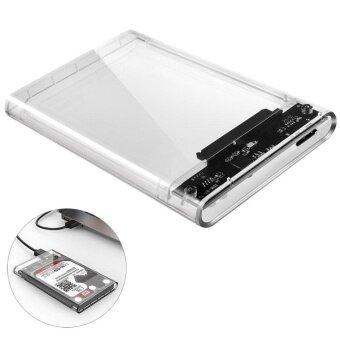 ประกาศขาย ORICO 2.5 inch Transparent USB3.0 to Sata 3.0 HDD Case Tool Free 5Gbps Support 2TB UASP Protocol Hard Drive Enclosure [Optimized ForSSD Support UASP SATA III] 2139U3 - intl