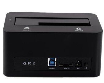 ต้องการขาย ORICO 6619SUS3 Hi-speed USB 3.0 & eSATA Docking Station for 2.5Inch or 3.5in HDD SSD Enclosure with 12V 2.5A Power Adapter - Intl