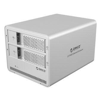 ORICO 9528U3 Tool Free Aluminum USB 3.0 Dual-bay 3.5-inch SATAExternal Enclosure Support 2x 6TB Drive - Intl