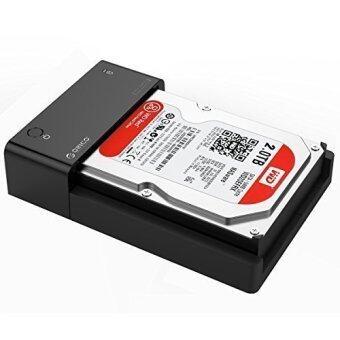 รีวิว ORICO Tool Free USB3.0 to SATA III 2.5 Inch/3.5 Inch HDD DockingStation/ Hard Drive Enclosure Case [Support UASP & 8TB] - Black- Intl