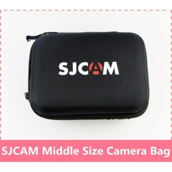 (ORIGINAL) SJCAM Action Camera Protective Travel Case Carry Bag Water Resistant (Middle Bag)