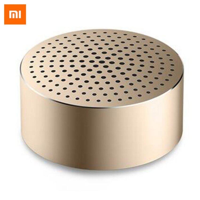 Original Xiaomi Mi Bluetooth V4.0 Portable Speaker - Champagne Gold - intl