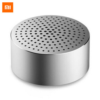 Original Xiaomi Mi Bluetooth V4.0 Portable Speaker - Silver - intl