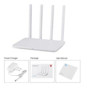 Original Xiaomi Mi WiFi Router 3 128MB ROM 1167Mbps 2.4/5GHz with 4Antennas(White) - intl - 5